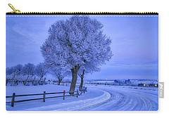 Winter Chill Carry-all Pouch by Lynn Hopwood