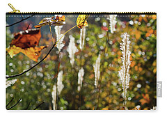 Carry-all Pouch featuring the photograph Winter Color by George Randy Bass