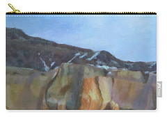 Winter Colors At Abiquiu Carry-all Pouch