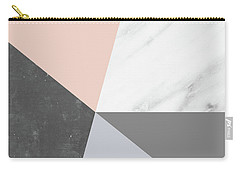 Winter Colors Collage Carry-all Pouch