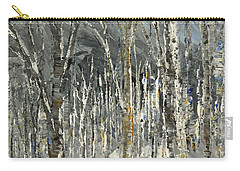 Carry-all Pouch featuring the painting Winter Country by Tatiana Iliina