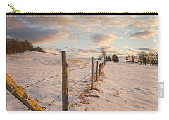 Winter Countryside Carry-all Pouch