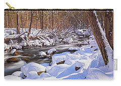 Winter Crisp Carry-all Pouch by Angelo Marcialis