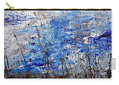 Carry-all Pouch featuring the painting Winter Crisp by Jacqueline Athmann