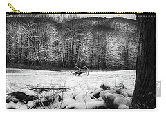 Carry-all Pouch featuring the photograph Winter Dreary by Bill Wakeley