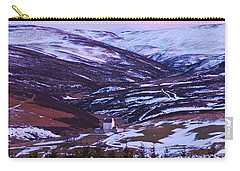 Winter Dusk At Corgarff Carry-all Pouch