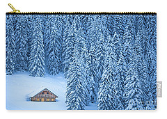 Winter Escape Carry-all Pouch by JR Photography