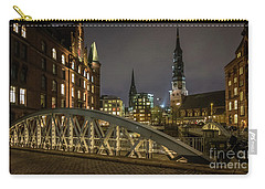 Winter Evening In Hamburg  Carry-all Pouch