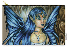 Winter Fairy Drawing Carry-all Pouch