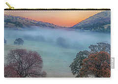 Winter Fog At Sunrise Carry-all Pouch