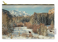 Wyoming Winter Carry-all Pouch