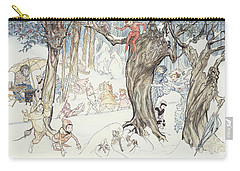 Winter Frolic Carry-all Pouch