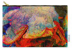 Carry-all Pouch featuring the photograph Winter Garden Interlude by Anastasia Savage Ealy