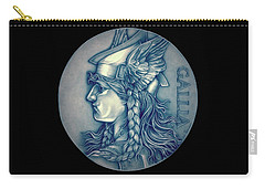 Winter Goddess Of Gaul Carry-all Pouch by Fred Larucci