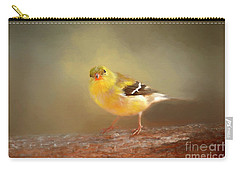 Winter Goldfinch Carry-all Pouch