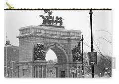 Winter Grand Army Plaza Carry-all Pouch