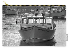 Carry-all Pouch featuring the photograph Winter Harbor, Maine  by Trace Kittrell