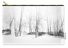 Snowy Forest - North Carolina Carry-all Pouch