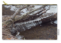 Winter Ice Dam Carry-all Pouch