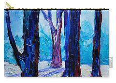 Winter Impression Carry-all Pouch by Ana Maria Edulescu
