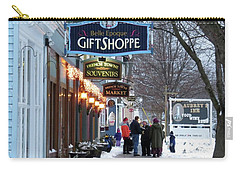 Winter In Cape Vincent Carry-all Pouch