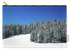 Winter In Colorado  Carry-all Pouch