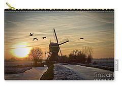 Winter In Holland-2 Carry-all Pouch