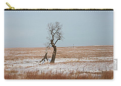 Winter In Kansas Carry-all Pouch