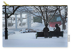 Winter In New Hampshire Carry-all Pouch