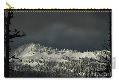 Winter In North Cascades Carry-all Pouch