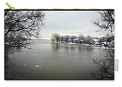 Winter In Quebec Carry-all Pouch