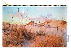 Winter In South Walton Carry-all Pouch by Cathy Findley