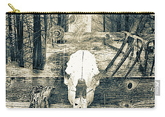 Winter In The In The Woods Carry-all Pouch by Ronda Broatch