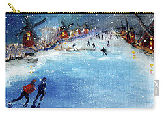 Winter In The Netherlands Carry-all Pouch
