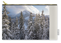 Winter In The Wasatch Carry-all Pouch