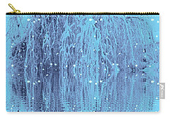 Carry-all Pouch featuring the photograph Winter Is Pretty by Holly Martinson