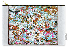 Winter Joy Carry-all Pouch by Donna Blackhall