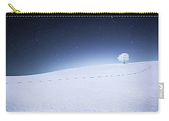 Carry-all Pouch featuring the photograph Winter Landscape by Bess Hamiti
