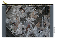 Winter Leaf Abstract-i Carry-all Pouch