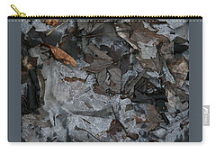 Winter Leaf Abstract-iii Carry-all Pouch