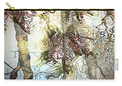 Winter Leaves Carry-all Pouch by Pennie  McCracken
