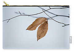 Winter Leaves Carry-all Pouch by Tom Singleton