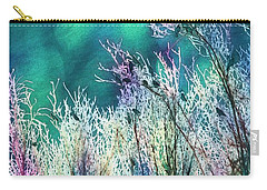 Winter Lights Carry-all Pouch by Kathy Bassett