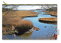 Winter Marsh Carry-all Pouch