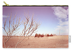 Carry-all Pouch featuring the photograph Winter Marshlands by Colleen Kammerer