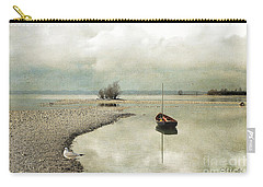 Winter Morning By The Lake Carry-all Pouch