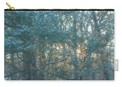 Winter Morning Glory Carry-all Pouch