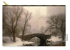 Winter Nostalgia Carry-all Pouch by Jessica Jenney