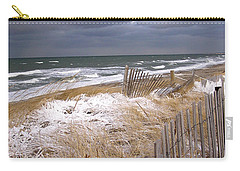 Winter On Cape Cod Carry-all Pouch by Charles Harden