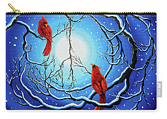 Winter Peace Carry-all Pouch by Laura Iverson
